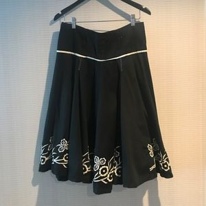 Embroidered Skirt 100% Cotton